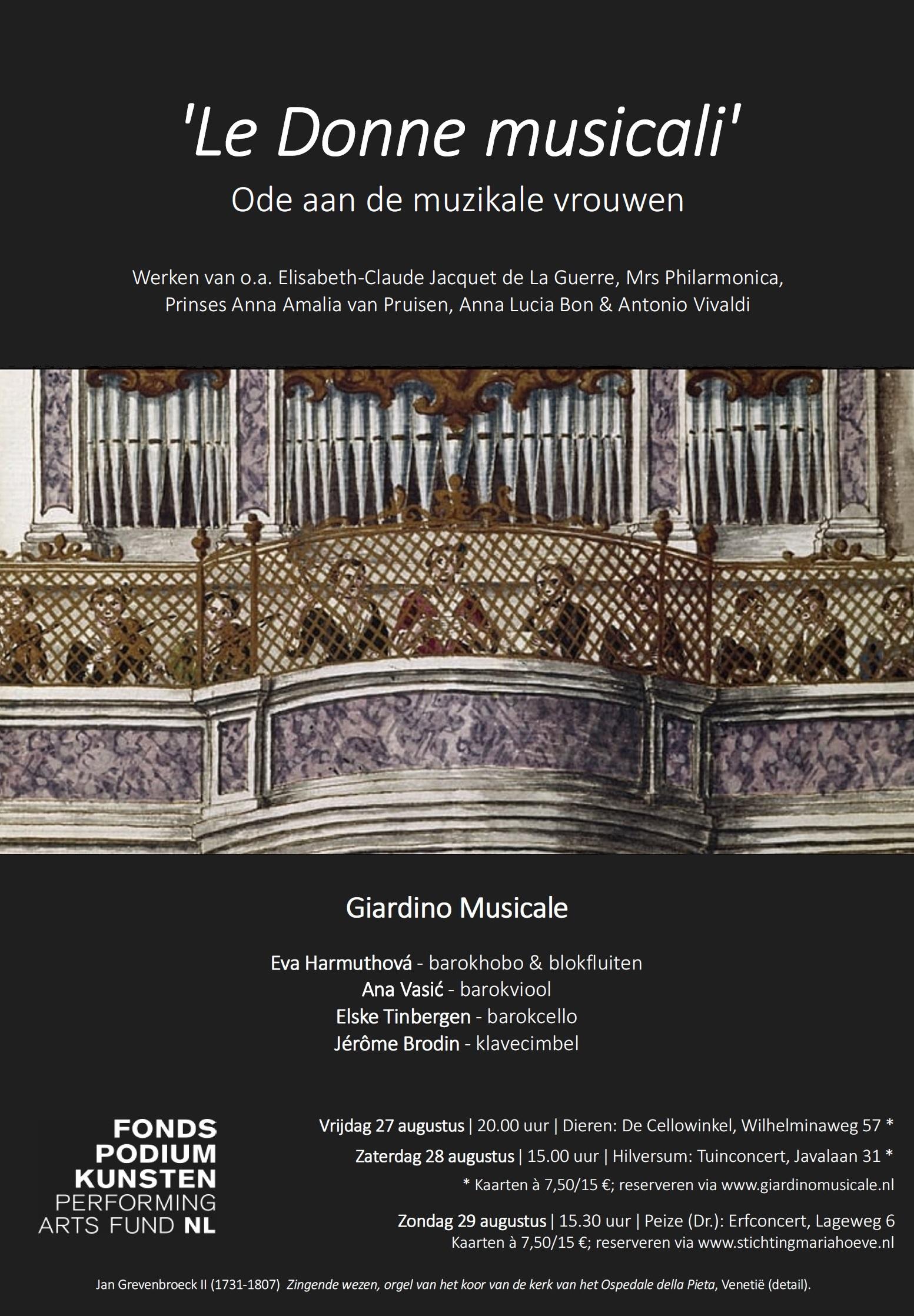 Le-Donne-musicali-Poster